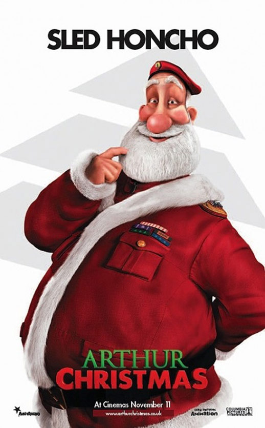Arthur Christmas Poster #5