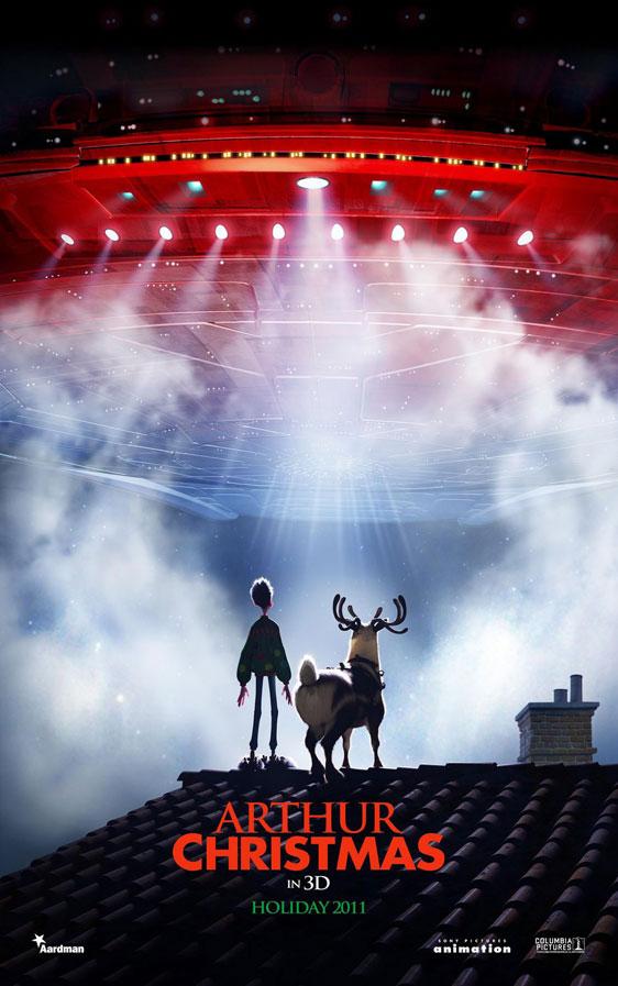 Arthur Christmas Poster