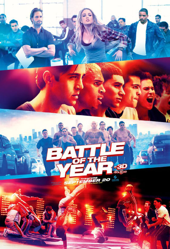 Battle of the Year Poster