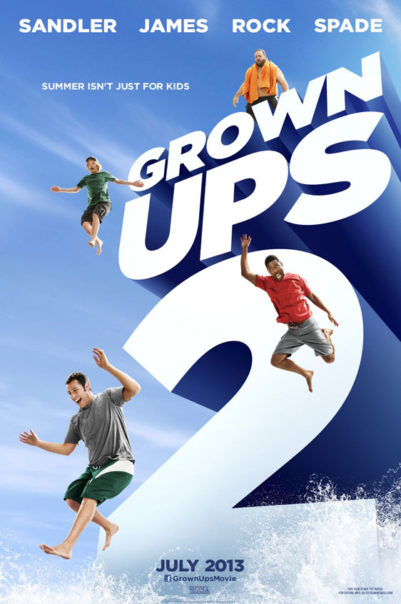Grown Ups 2 Poster #2