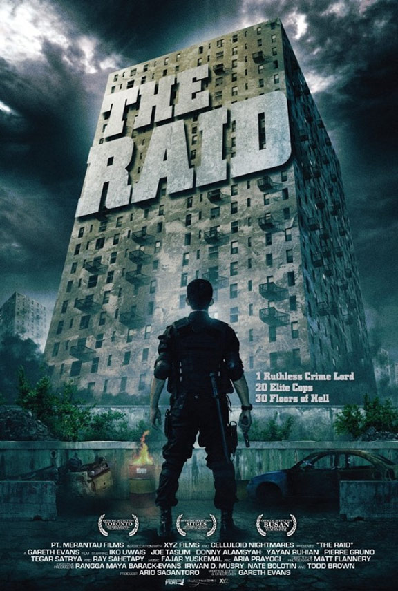 The Raid: Redemption Poster #1