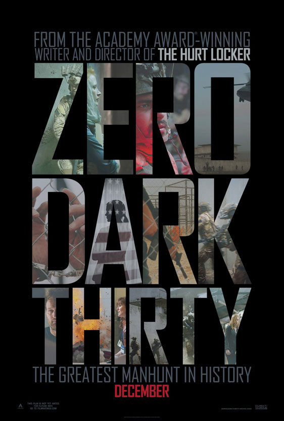 Zero Dark Thirty Poster #3