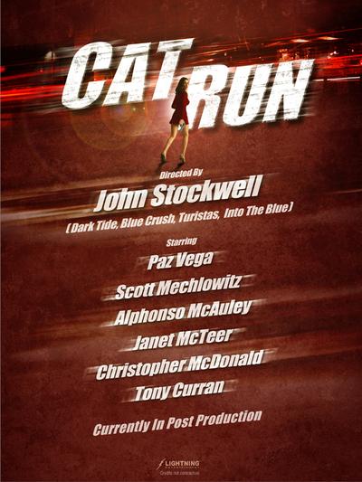 Cat Run Poster #1