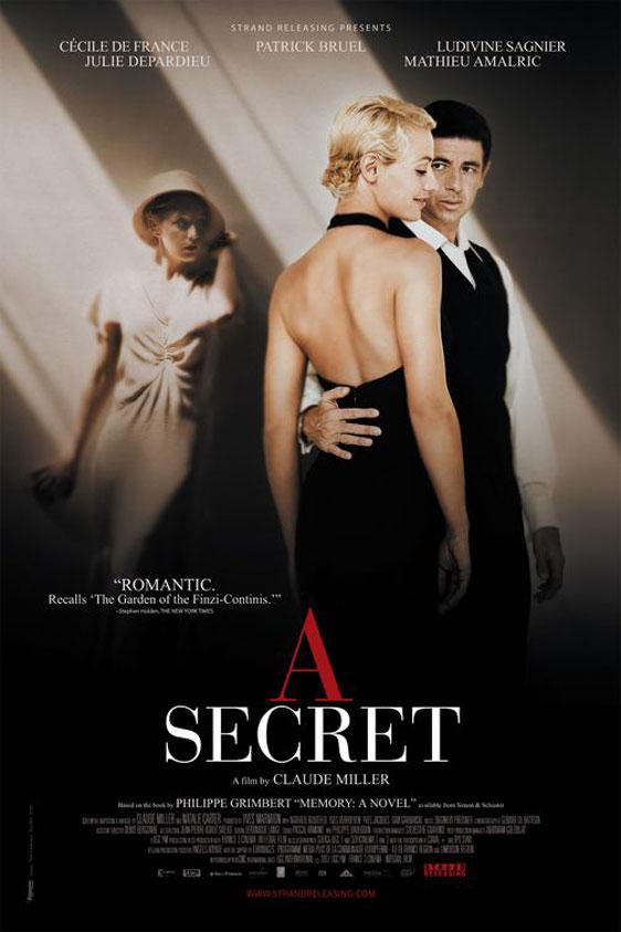 A Secret (Un secret) Poster