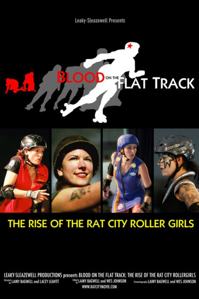 Blood on the Flat Track Poster