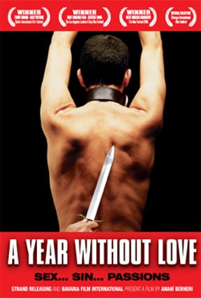 A Year Without Love (Un año sin amor) Poster