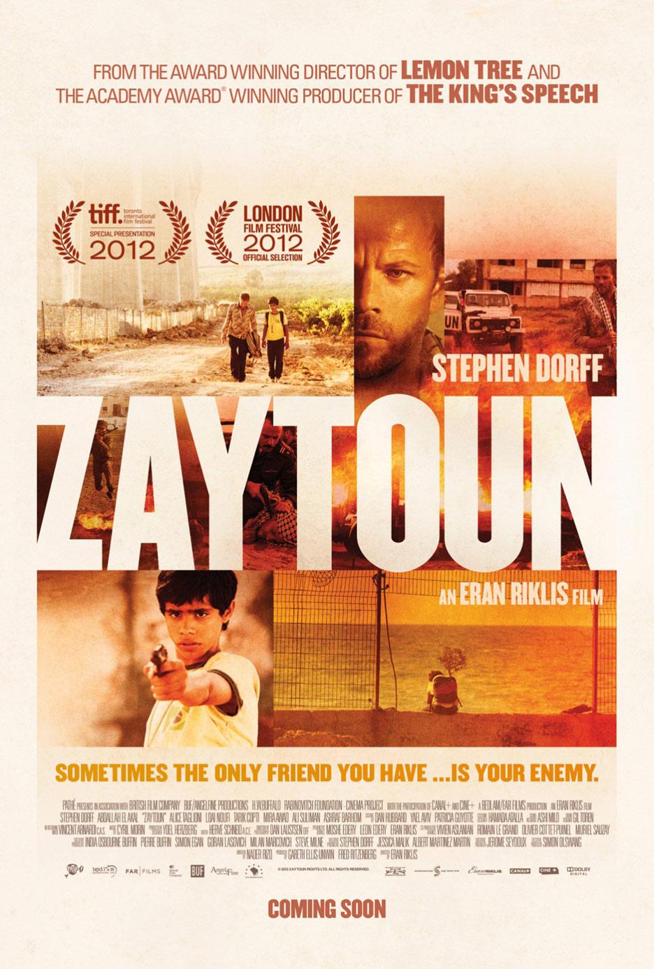 Zaytoun Poster