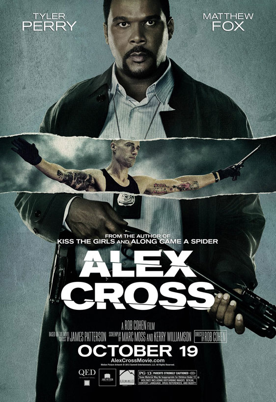Alex Cross Poster #3