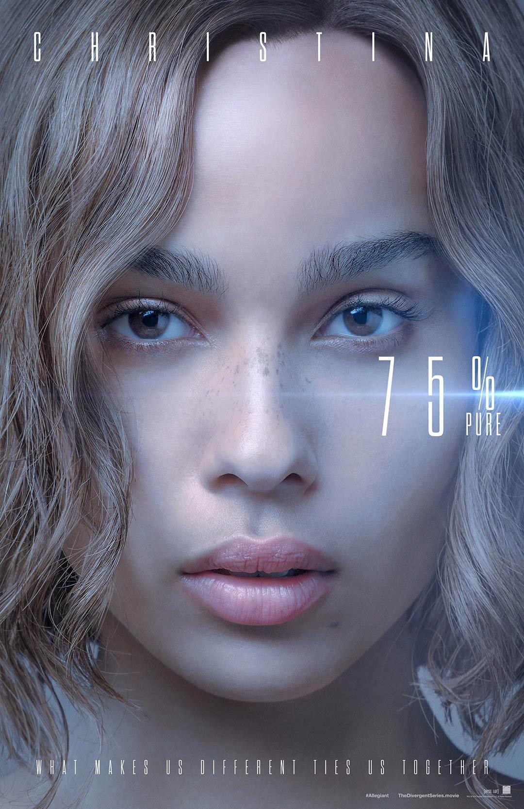 The Divergent Series: Allegiant (2016) Poster #1 - Trailer ...