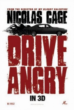 Drive Angry 3D Poster #2
