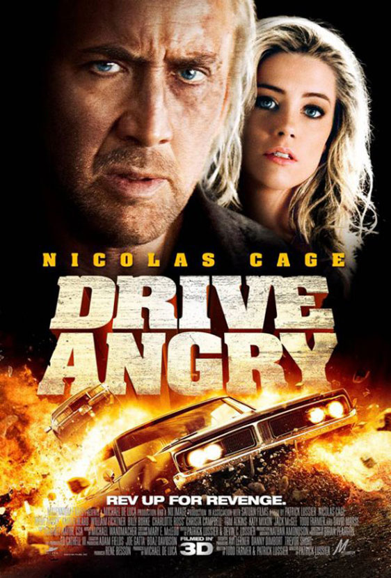 Drive Angry 3D Poster #4