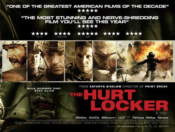 The Hurt Locker Poster #8