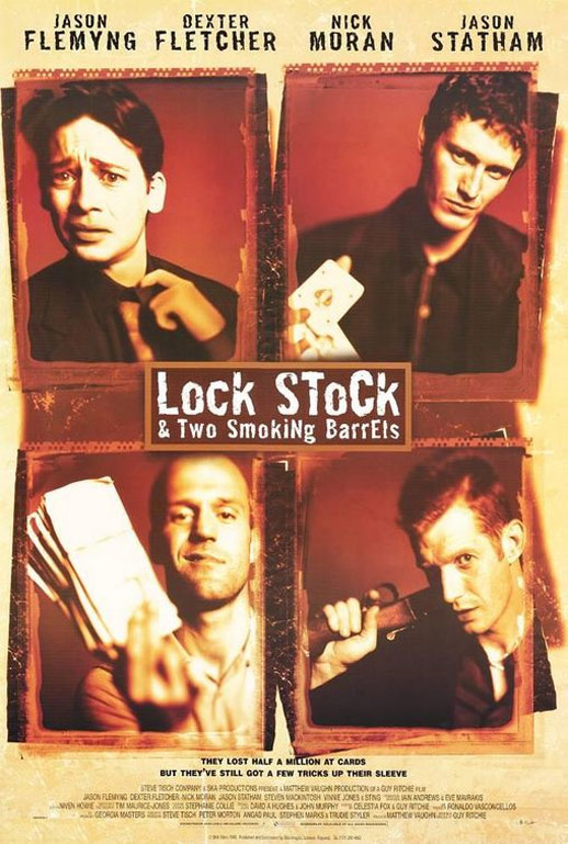 Lock, Stock and Two Smoking Barrels Poster #2