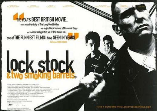 Lock, Stock and Two Smoking Barrels Poster #3