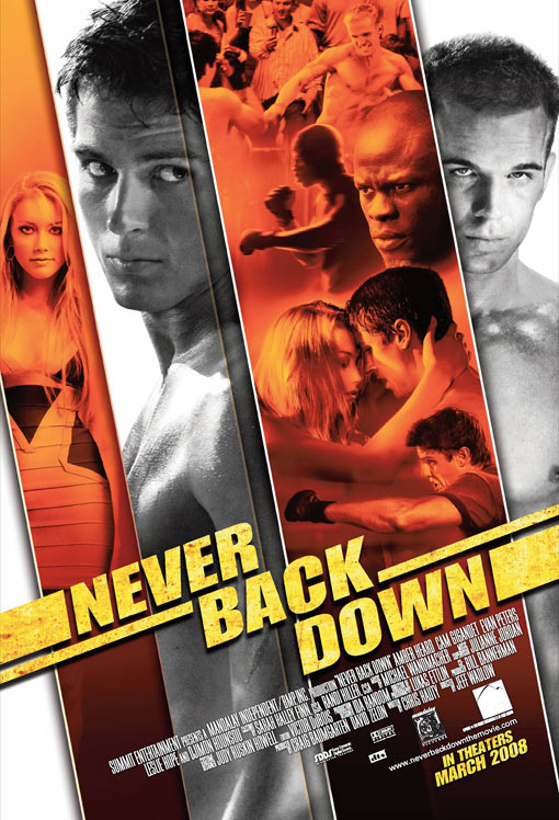 Never Back Down Poster #1