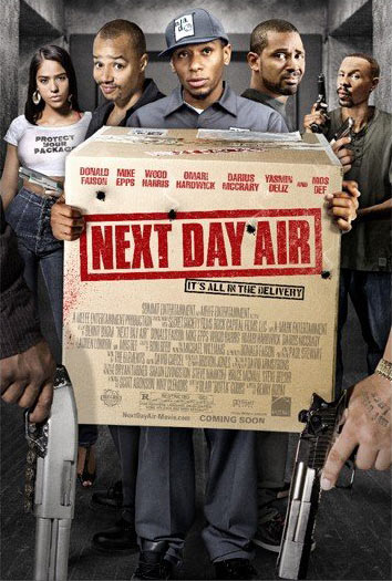 Next Day Air Poster #2
