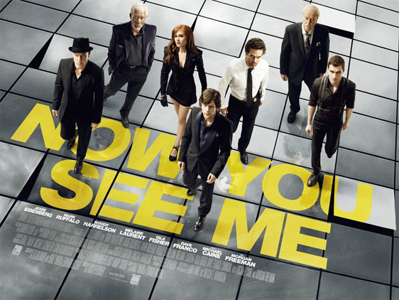 Now You See Me Poster #3