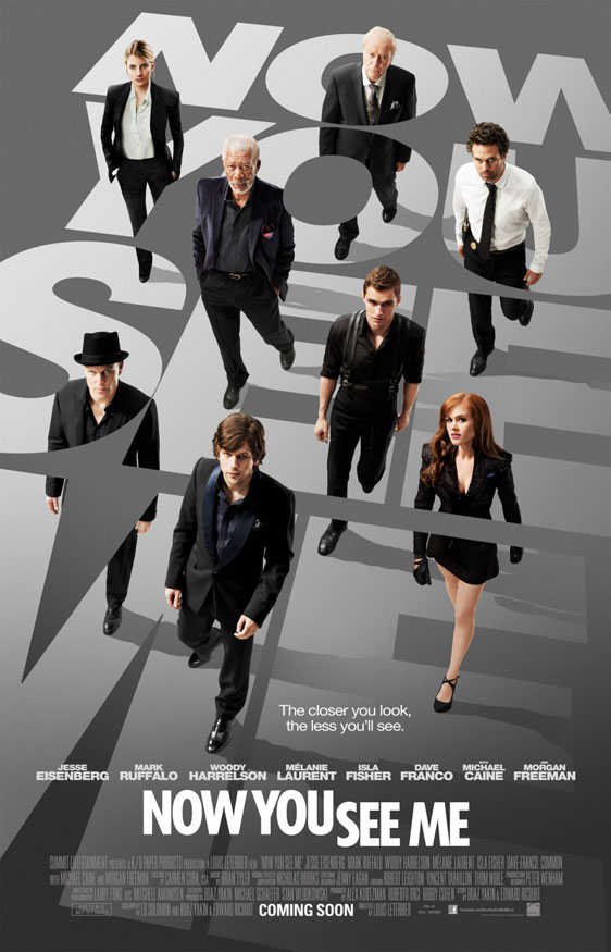 Now You See Me Poster #1