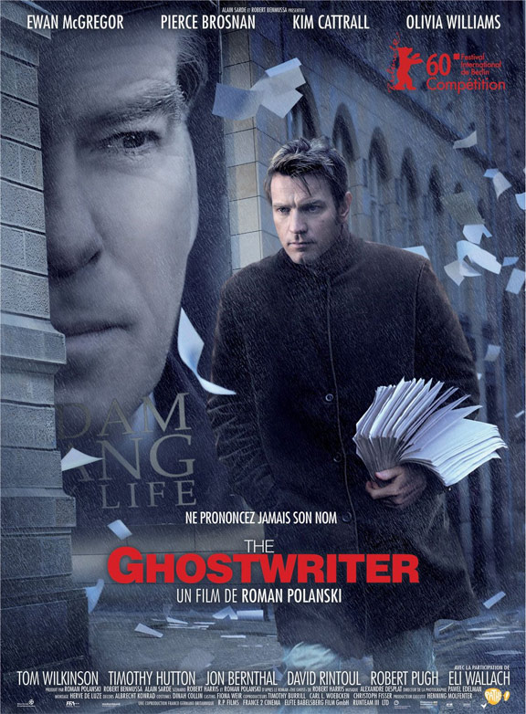 The Ghost Writer Poster #1