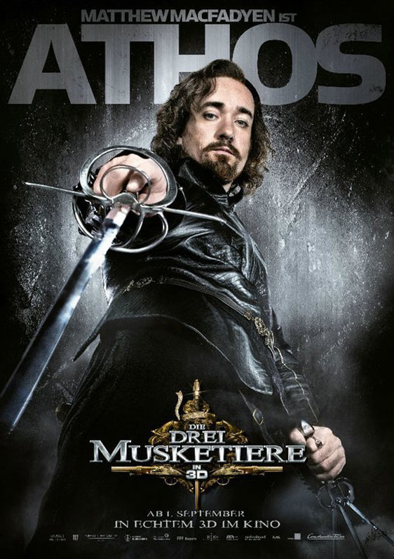 The Three Musketeers 3D Poster #10
