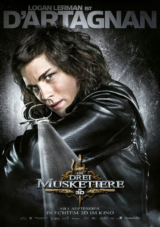 The Three Musketeers 3D Poster #12