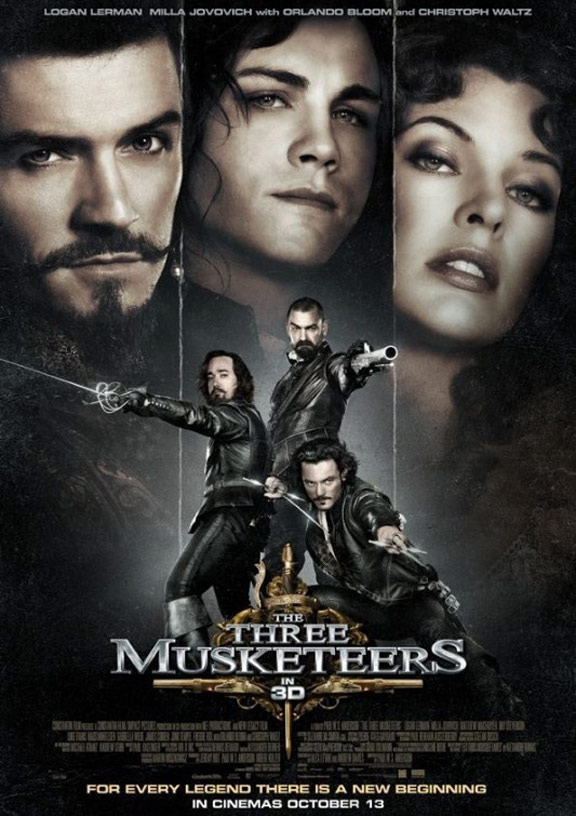 The Three Musketeers 3D Poster #20
