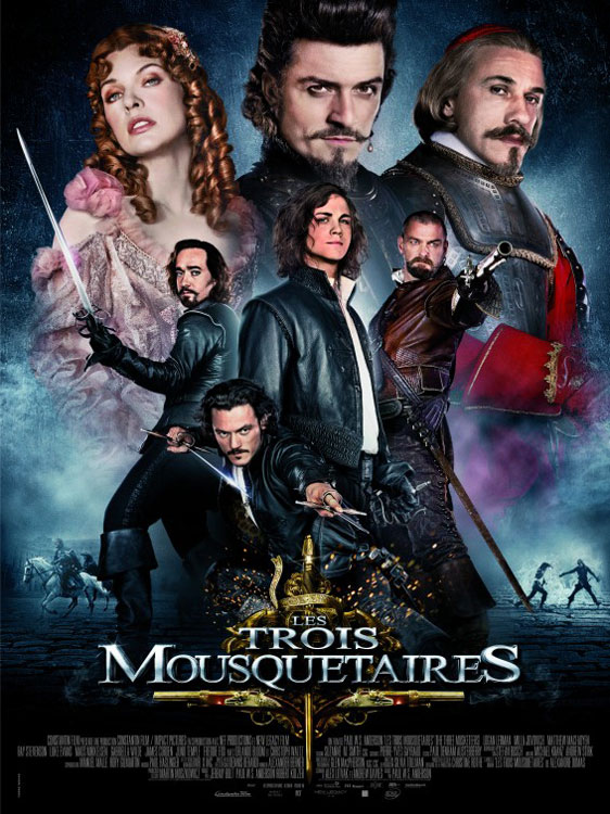 The Three Musketeers 3D Poster #26