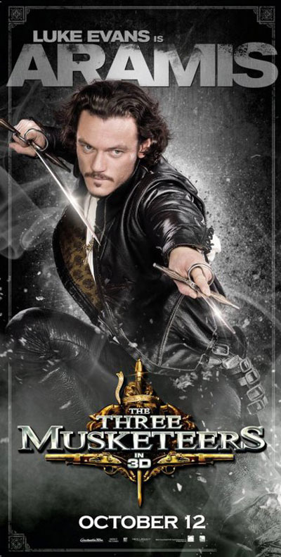The Three Musketeers 3D Poster #3