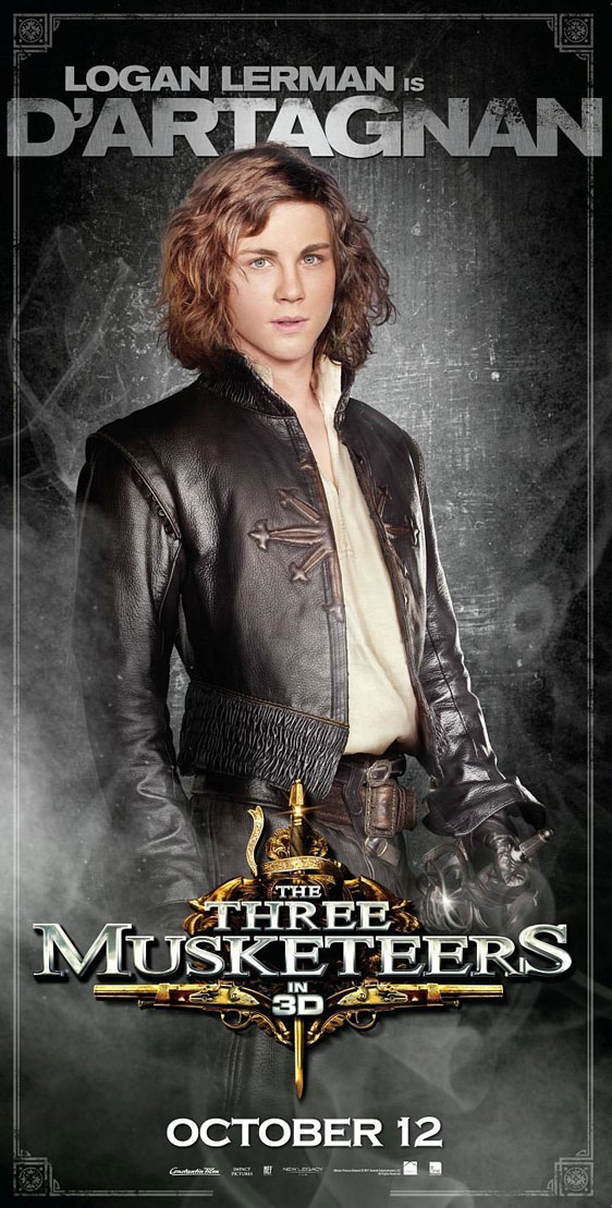 The Three Musketeers 3D Poster #6