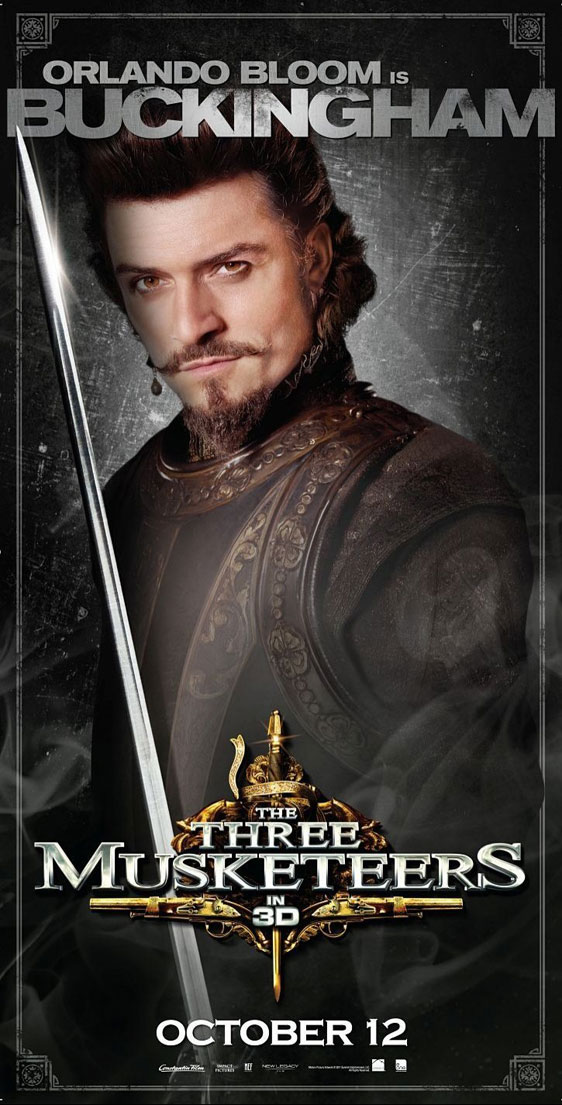 The Three Musketeers 3D Poster #7
