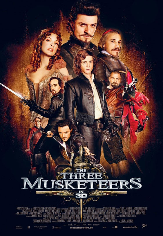 The Three Musketeers 3D Poster #9