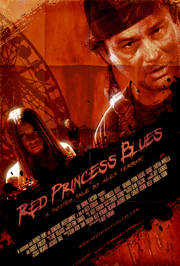Red Princess Blues Poster #1