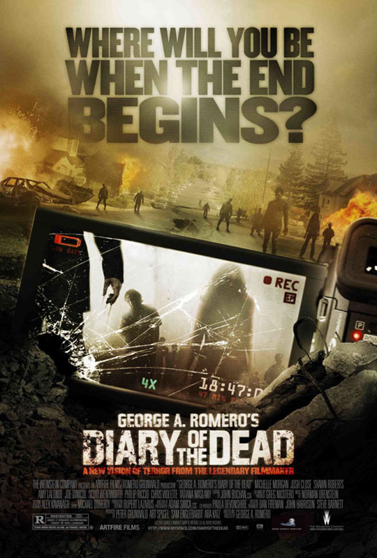 George A. Romero's Diary of the Dead Poster