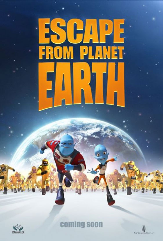 Escape from Planet Earth Poster #2