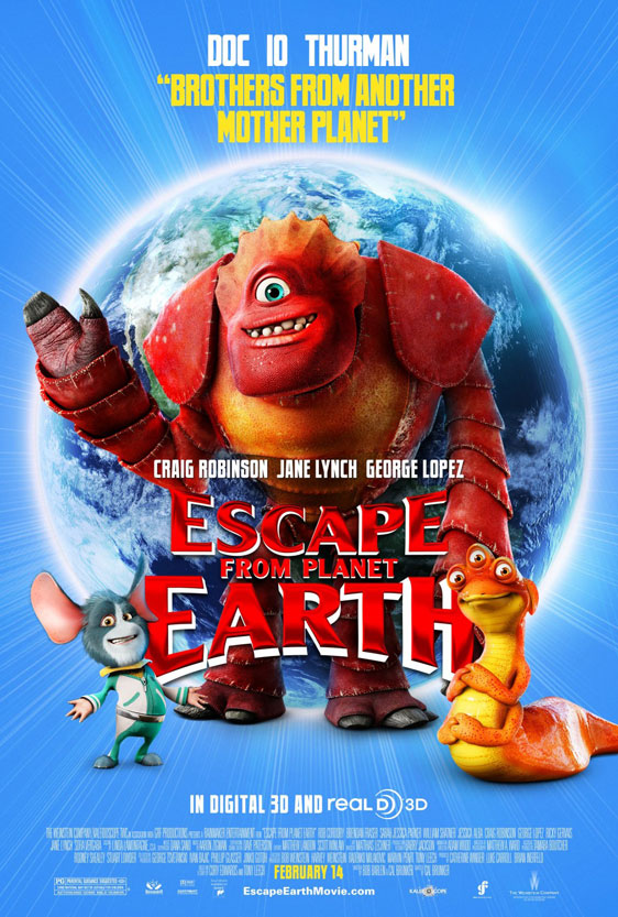 Escape from Planet Earth Poster #3
