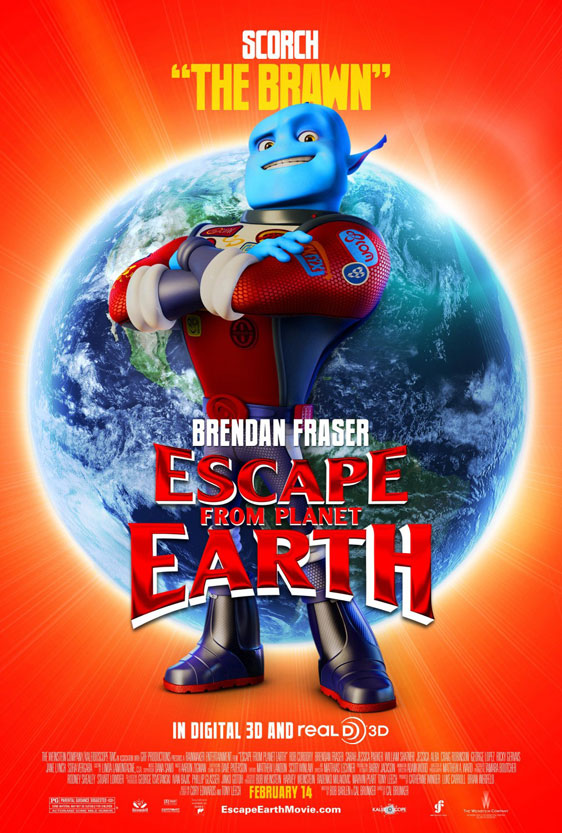Escape from Planet Earth Poster #4