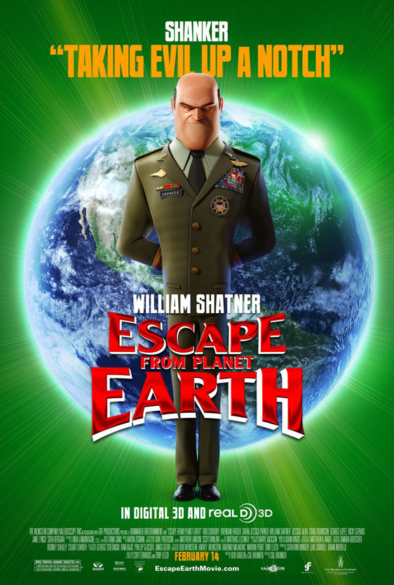 Escape from Planet Earth Poster #5