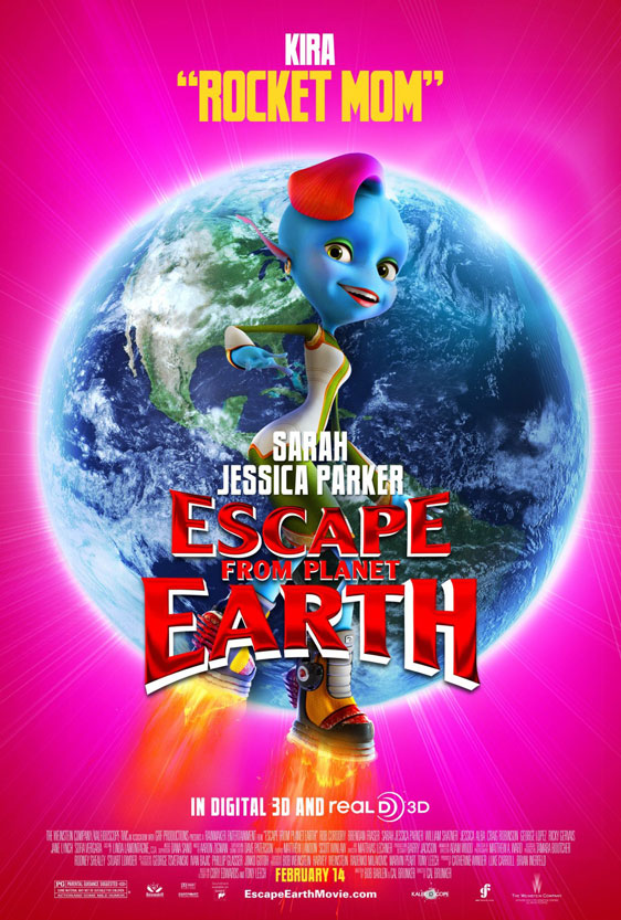 Escape from Planet Earth Poster #6