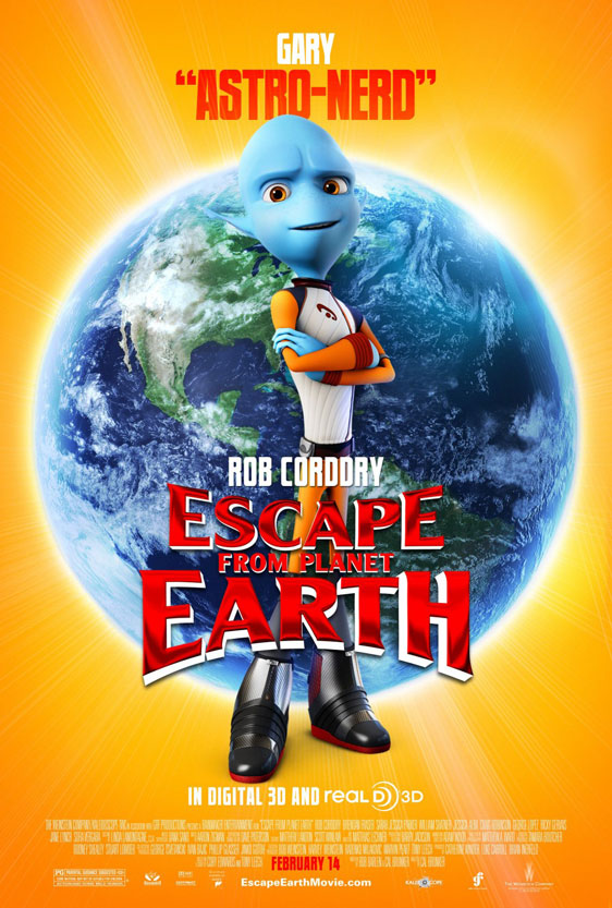 Escape from Planet Earth Poster #9