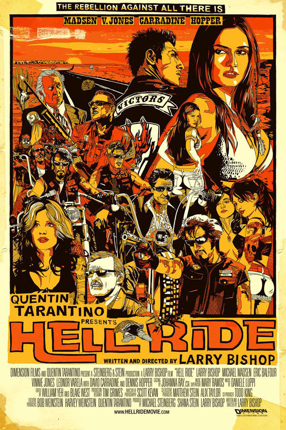 Hell Ride Poster #1