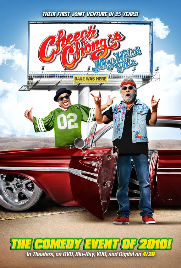 Cheech and Chong's Hey Watch This Poster