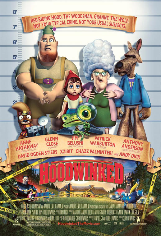 Hoodwinked Poster #1