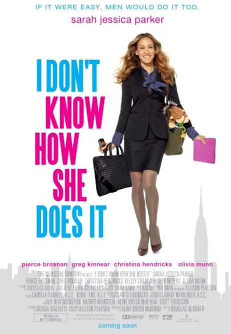 I Don't Know How She Does It Poster #2