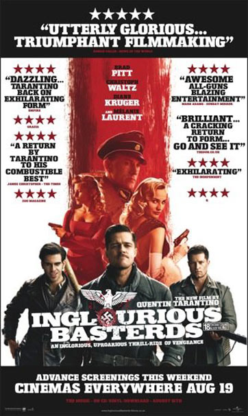 Melanie laurent inglourious basterds poster