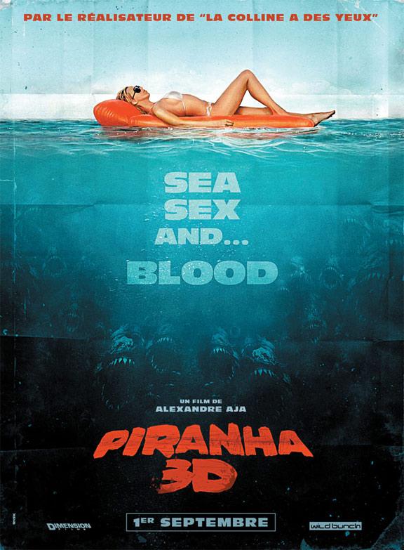Piranha 3D Poster #3