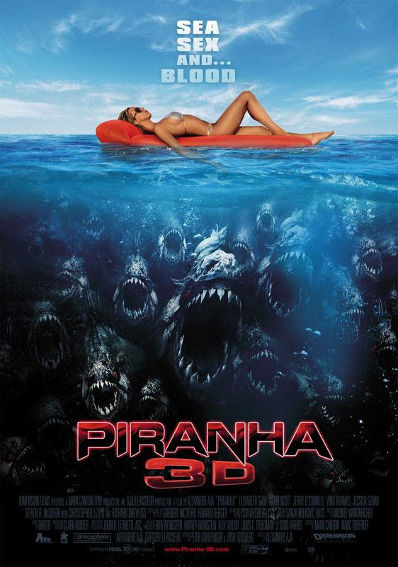 Piranha 3D Poster #5