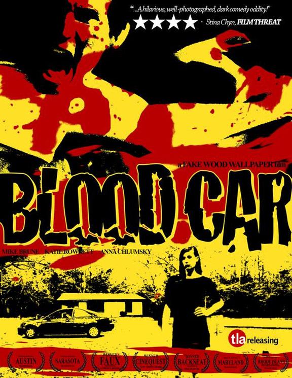 Blood Car Poster #1