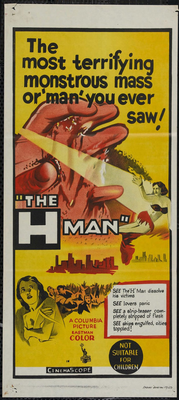 The H-Man Poster
