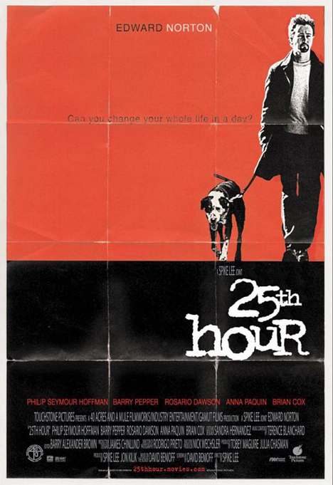 25th Hour Poster #1