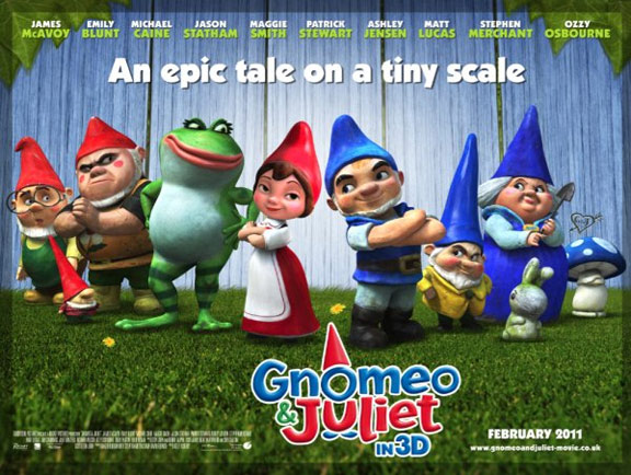 Gnomeo & Juliet Poster #3
